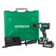 Hitachi DV18DBL2 18V Lithium-Ion 1/2 in. Cordless Hammer Drill Kit (6 Ah)