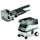 Festool PM574432 Domino Mortise and Tenon Joiner Set with CT MINI 2.6 Gallon Mobile Dust Extractor