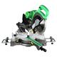 Metabo HPT C10FSHSM 10 in. Sliding Compound Miter Saw with Adjustable Laser Guide