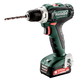 Metabo 601036520 12V PowerMaxx BS 12 Lithium-Ion Brushless Compact 3/8 in. Cordless Drill Driver Kit (2 Ah)