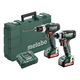 Metabo 685167520 PowerMaxx 12V 2.0 Ah SSD 12 1/4 in. Hex Compact Impact Driver and SB 12 3/8 in. Compact Hammer Drill Driver