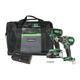 Metabo HPT KC18DBFL2SM 18V Cordless Brushless Lithium Ion Hammer Drill & Impact Driver Combo Kit