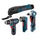 Bosch CLPK43-120 12V Max Cordless Lithium-Ion 4-Tool Combo Kit