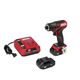 Skil ID574402 PWRCore 12 12V Brushless 1/4 in. Hex Impact Driver Kit with (2) 2 Ah Lithium-Ion Batteries, PWRassist USB and PWRJUMP Charger