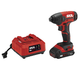 Skil ID572702 PWRCore 20 20V 1/4 in. Hex Impact Driver Kit with (1) 2 Ah Lithium-Ion Battery and Charger