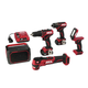 Skil CB736801 PWRCore 12 12V Brushless 5-Tool Combo Kit with (2) 2 Ah Lithium-Ion Batteries, PWRassist USB and PWRJUMP Charger