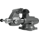 Wilton 28832 Machinist 5 in. Jaw Round Channel Vise with Swivel Base