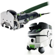 Festool P26574332 Domino Mortise and Tenon Joiner with CT 26 E 6.9 Gallon HEPA Mobile Dust Extractor