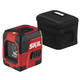 Skil LL932301 50 ft. Self-levelling Red Cross Line Laser with Integrated Rechargeable Lithium-Ion Battery