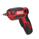 Skil SD561801 4V 1/4 in. Pistol Grip Screwdriver with Integrated Rechargeable Lithium-Ion Battery