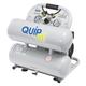 Quipall 4-1-SILTWN-AL 4.6 Gallon 1 HP Aluminum Twin Stack Ultra Quiet and Oil Free Compressor