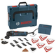 Bosch MX25EL-37 2.5 Amp Multi-X Oscillating Tool Kit with 37 Accessories