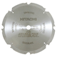 Hitachi 18109 12 in. 8-Tooth HardiBlade PCD Fiber Cement Saw Blade
