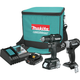 Factory Reconditioned Makita CX201RB-R 18V LXT Lithium-Ion Sub-Compact Brushless Cordless Drill Driver / Impact Wrench Kit (2 Ah)