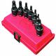 Sunex 3659 7-Piece 3/8 in. Drive Metric Universal Hex Bit Driver Impact Socket Set