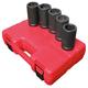 Sunex 54121 1-Piece 1 in. Drive 41mm x 21mm Combination Budd Wheel Impact Socket
