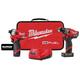 Milwaukee 2582-22 M12 FUEL Hydraulic Driver / Drill Driver Combo Kit