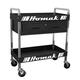 Homak BK06030210 30 in. 1-Drawer Service Cart - Black