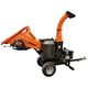 Detail K2 OPC505AE 5 in. - 14 HP Autofeed Chipper with Electric Start KOHLER CH440 Command PRO Commercial Gas Engine