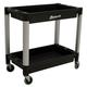 Homak PP06032021 30 in. x 16 in. 2-Shelf Utility Cart