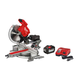Milwaukee 2739-21HD M18 FUEL Cordless Lithium-Ion 12 in. Dual Bevel Sliding Compound Miter Saw Kit (12 Ah)