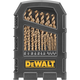 Dewalt DW1269 29-Piece Cobalt Pilot Point Drill Bit Set