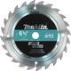 Makita A-85092 6-1/2 in. 24-Tooth Carbide Circular Saw Blade