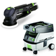 Festool PM571782 Rotex 5 in. Multi-Mode Sander with CT MINI 2.6 Gallon Mobile Dust Extractor