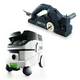 Festool P26574553 Planer with CT 26 E 6.9 Gallon HEPA Mobile Dust Extractor