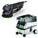 Festool PM571810 Rotex 6 in. Multi-Mode Sander with CT MINI 2.6 Gallon Mobile Dust Extractor