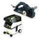 Festool PD574553 Planer with CT MIDI 3.3 Gallon Mobile Dust Extractor
