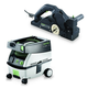 Festool PM574553 Planer with CT MINI 2.6 Gallon Mobile Dust Extractor