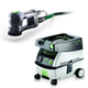 Festool PM571823 Rotex 3-1/2 in. Multi-Mode Sander with CT MINI 2.6 Gallon Mobile Dust Extractor