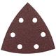Bosch SDTR240 240-Grit General Purpose Hook and Loop Sanding Triangles (5-Pack)