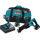 Makita XT407 LXT 18V 3.0 Ah Cordless Lithium-Ion 4-Tool Combo Kit