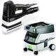 Festool PM567852 Duplex Linear Detail Sander with CT MINI 2.6 Gallon Mobile Dust Extractor