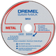 Dremel SM510C 3 in. Metal Cut-Off Wheels (3-Pack)