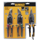 Dewalt DWHT70278 (3-Pack) Aviation Snips