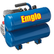 Emglo E810-4V 1.1 HP 4 Gallon Oil-Lube Twin Stack Air Compressor