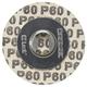 Dremel EZ411SA 1-1/4 in. 60-Grit EZ Lock Sanding Discs (5-Pack)