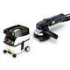 Festool PD570789 4-1/2 in. Rotary Sander with CT MIDI 3.3 Gallon Mobile Dust Extractor