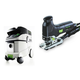 Festool P36561443 Trion Barrel Grip Jigsaw with CT 36 E 9.5 Gallon HEPA Mobile Dust Extractor