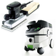 Festool P26567696 Orbital Finish Sander with CT 26 E 6.9 Gallon HEPA Mobile Dust Extractor