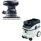 Festool PAC567863 Orbital Finish Sander with CT 36 AC 9.5 Gallon Mobile Dust Extractor