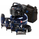 Campbell Hausfeld MW250096AV 0.8 HP 6 Gallon Oil-Free Pancake Air Compressor with Nailer and Stapler Kit