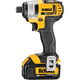 Dewalt DCF885L2 20V MAX Cordless Lithium-Ion 1/4 in. Impact Driver Kit