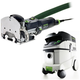 Festool P36574332 Domino Mortise and Tenon Joiner with CT 36 E 9.5 Gallon HEPA Mobile Dust Extractor