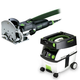 Festool PD574432 Domino Mortise and Tenon Joiner Set with CT MIDI 3.3 Gallon Mobile Dust Extractor