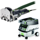 Festool PM574332 Domino Mortise and Tenon Joiner with CT MINI 2.6 Gallon Mobile Dust Extractor