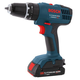 Factory Reconditioned Bosch HDB180-02-RT 18V 1.3 Ah Cordless Lithium-Ion 3/8 in. Hammer Drill Driver Kit with Contractor Bag